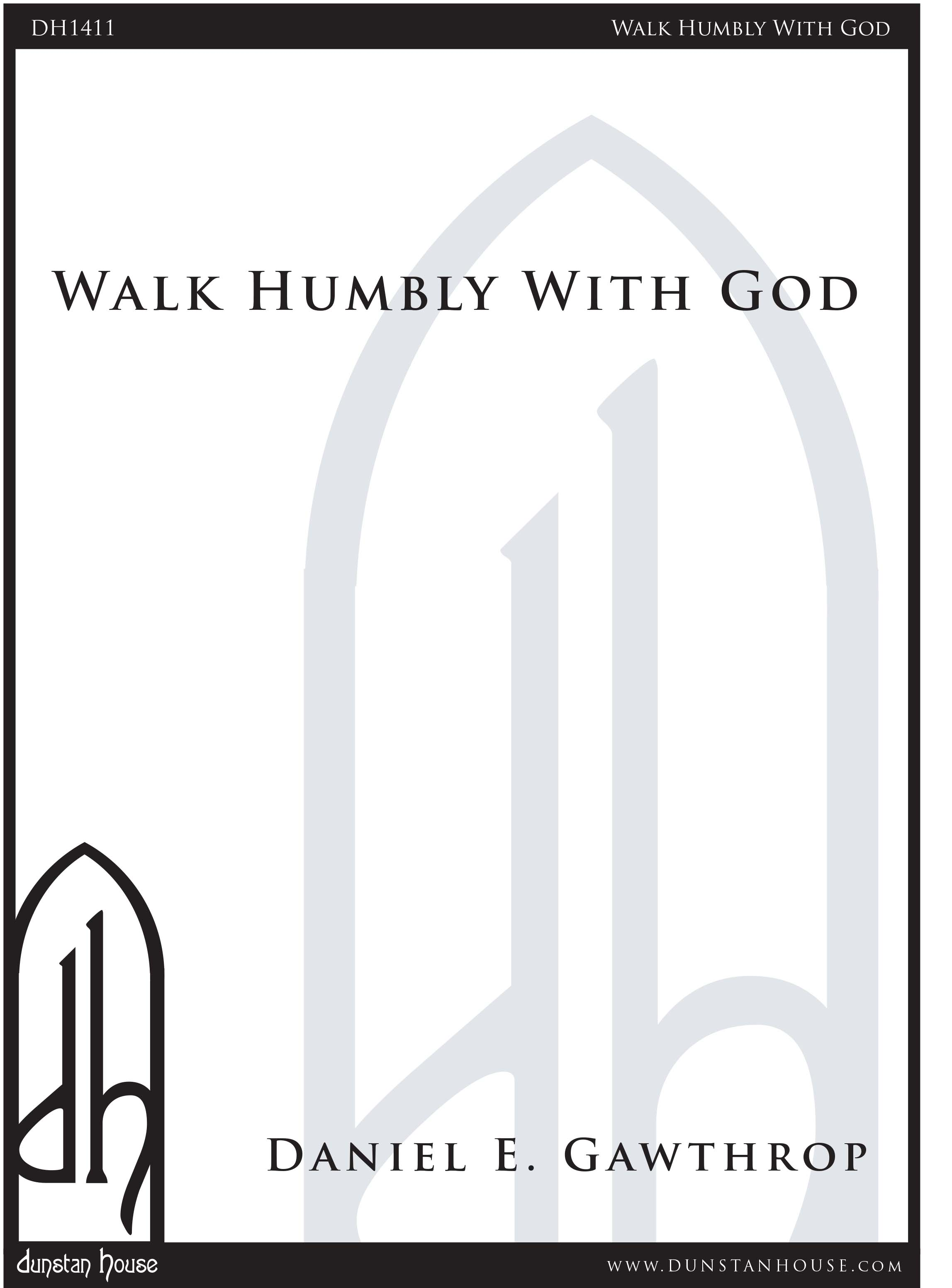 Walk Humbly With God