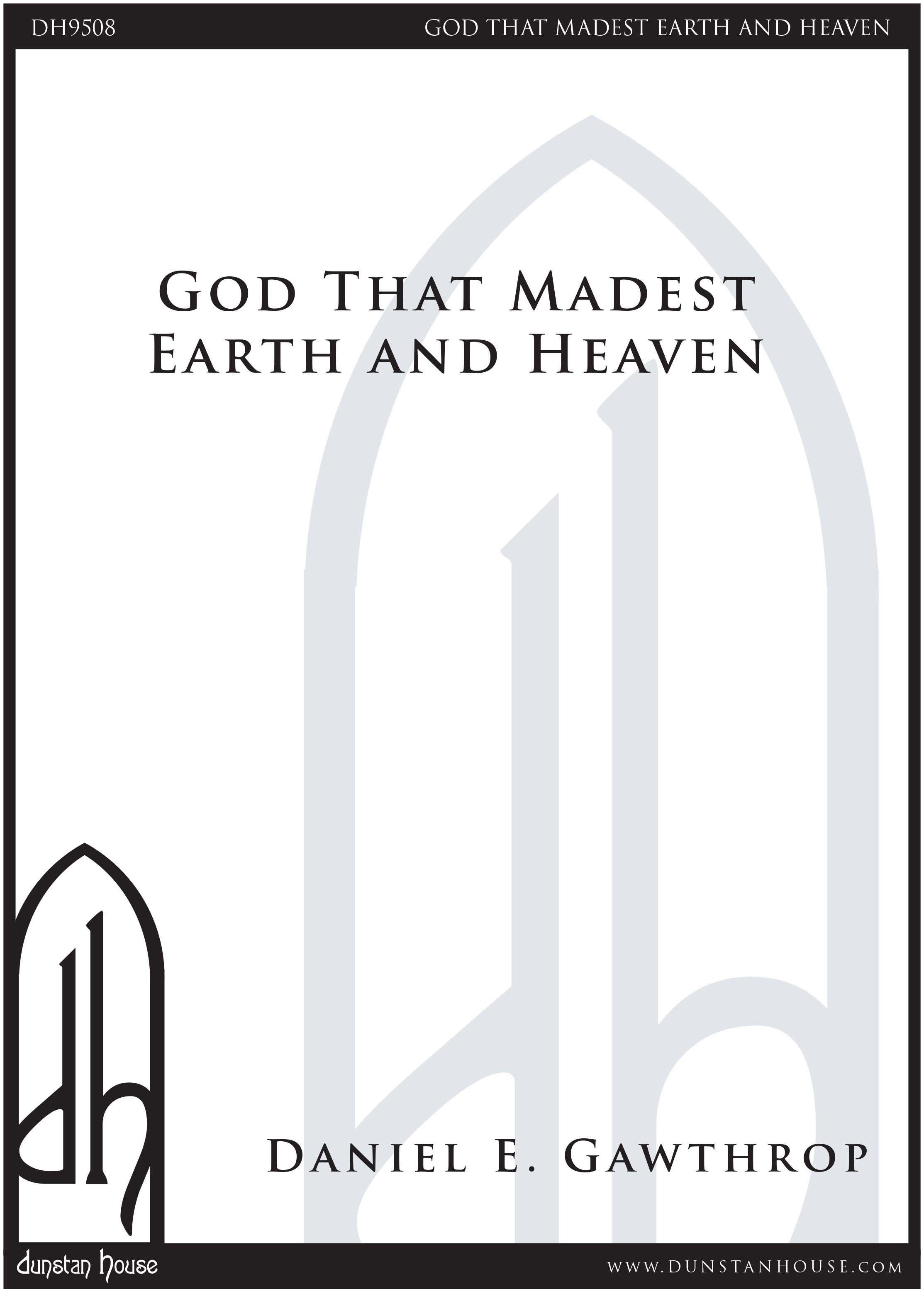 God that Madest Earth and Heaven